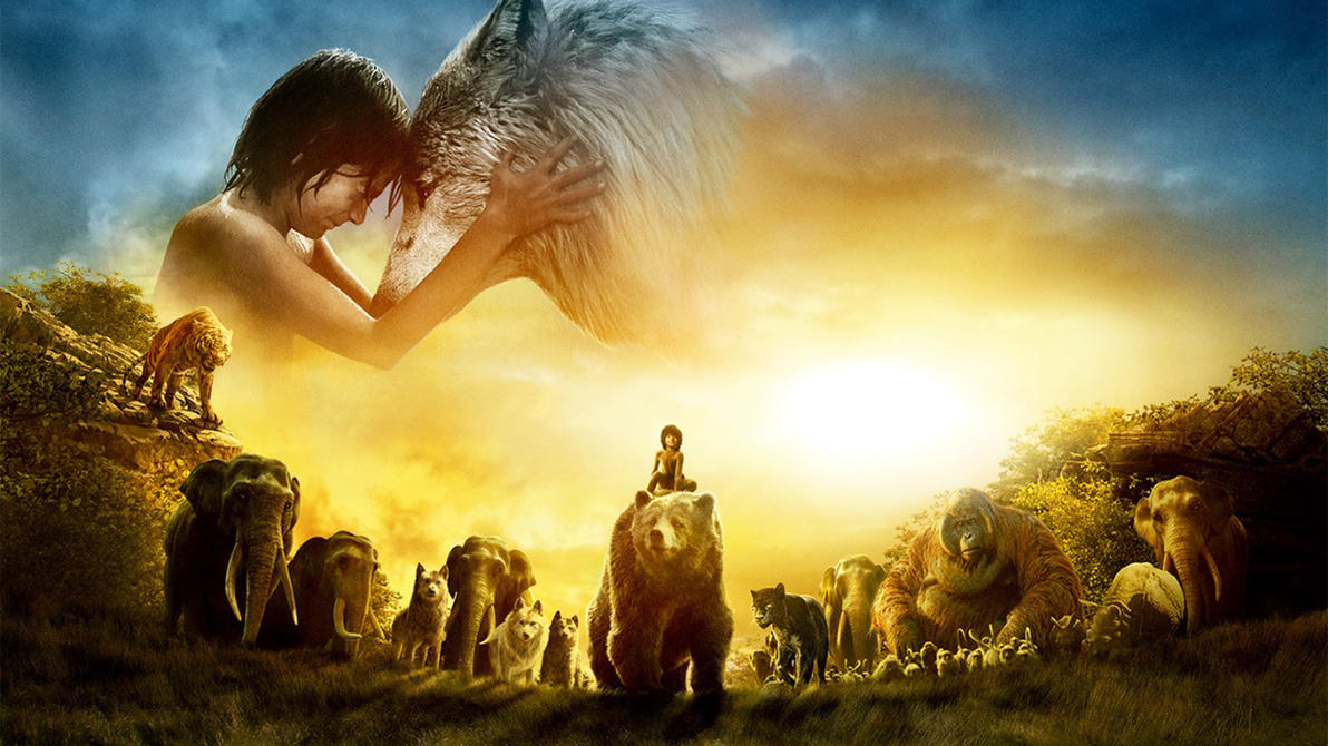 the jungle book 2016: wallpaper 1920x1080sachso74 on deviantart