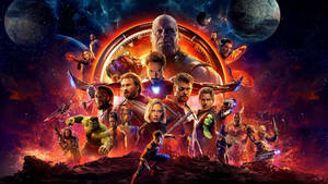 Avengers Infinity War:  Wallpaper 1920x1080 by sachso74