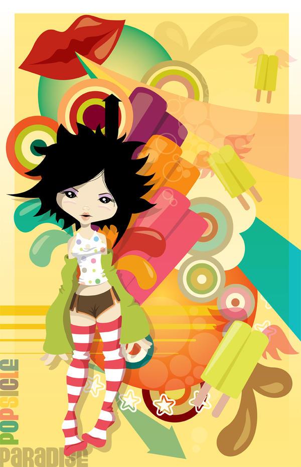 Popsicle Paradise by flashparade