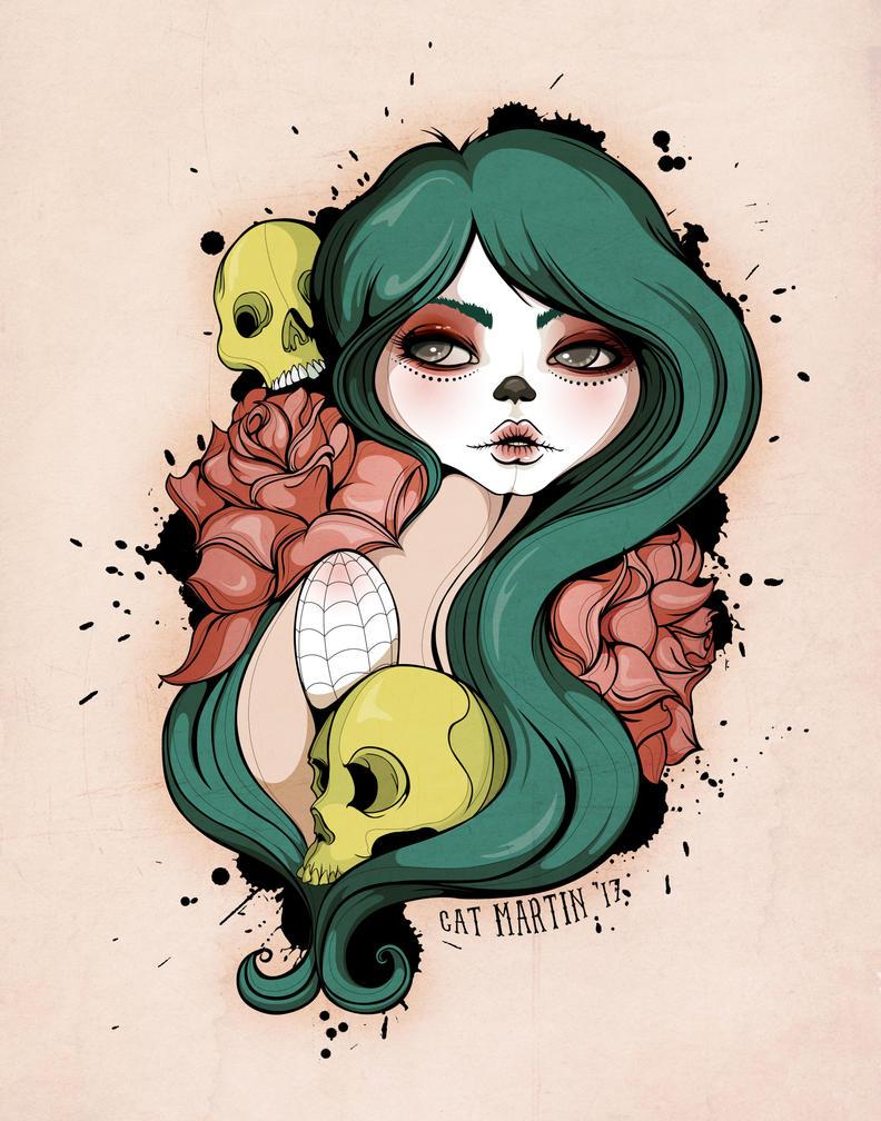 Sweet as Sugar Skull by flashparade