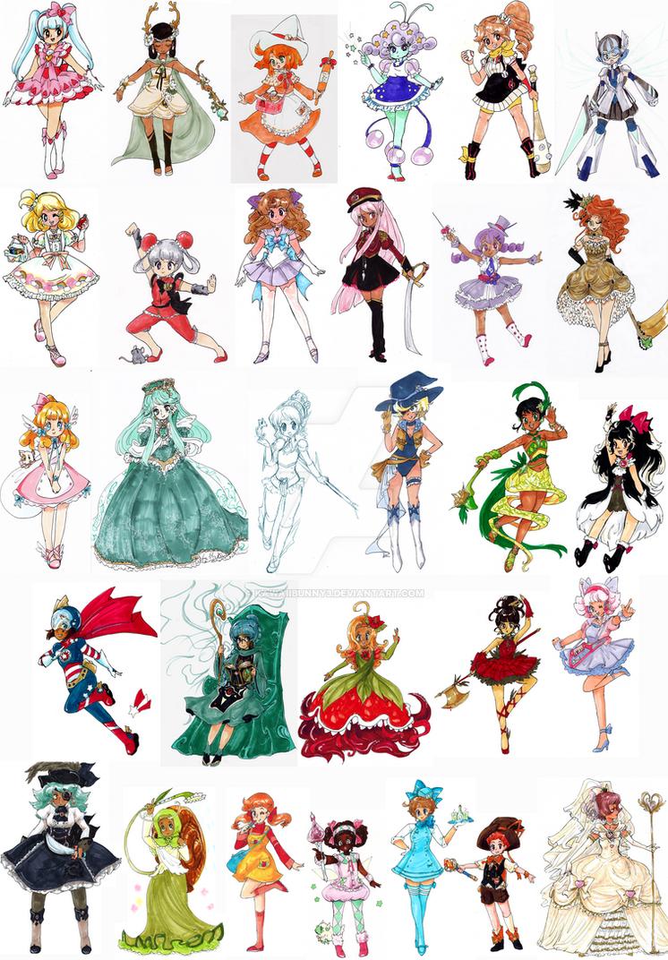 Magical Girl Challenge - by kawaiibunny3