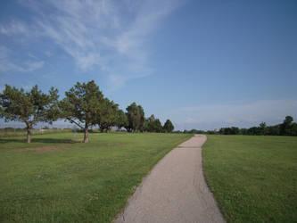 bike path in nebraska by SketchTeno
