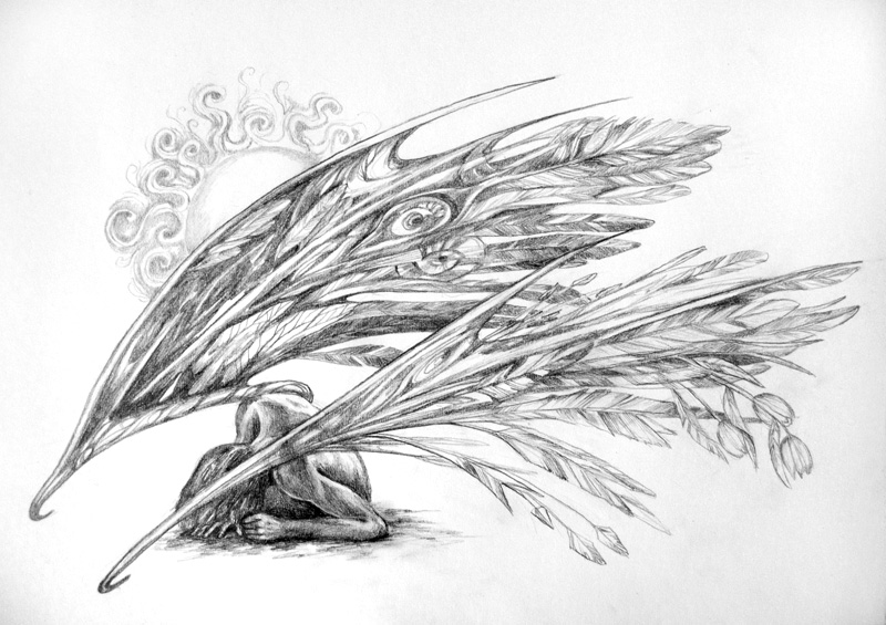 fallen angel by 6vladimira6 on deviantART