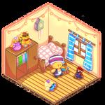Commission Mini chibi Room aliraluna1