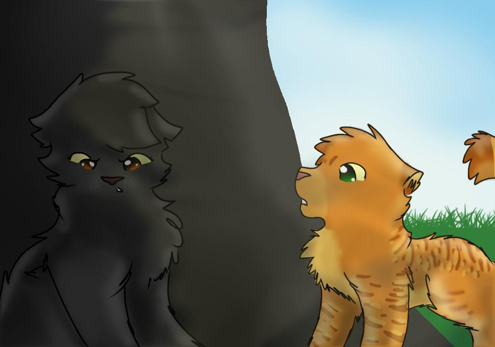 Yellowfang And Fireheart fireheart and Yellowfa...