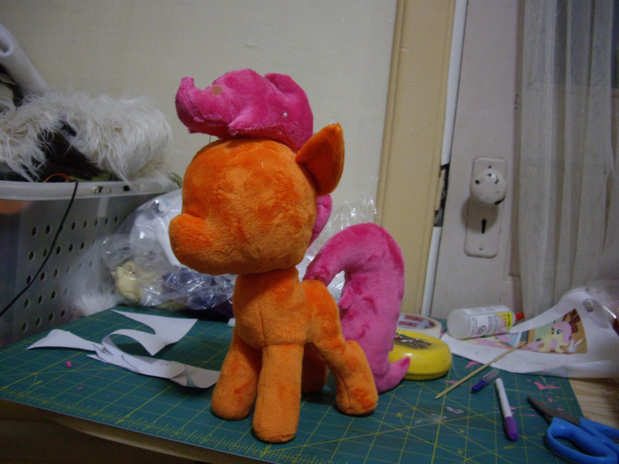Scootaloo WIP by ferbii