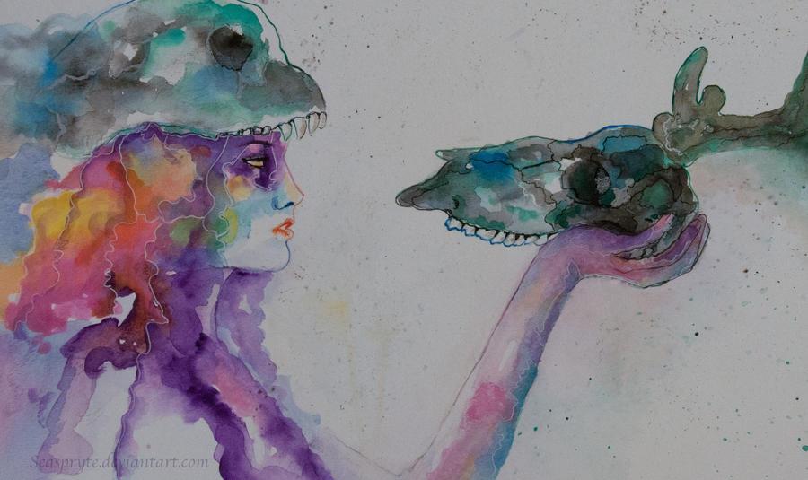 Skull Dance by SeaSpryte