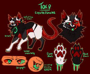 tox [secondary sona ref] by ToxicDusk