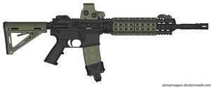 Larue obr 5.56x45mm NATO.