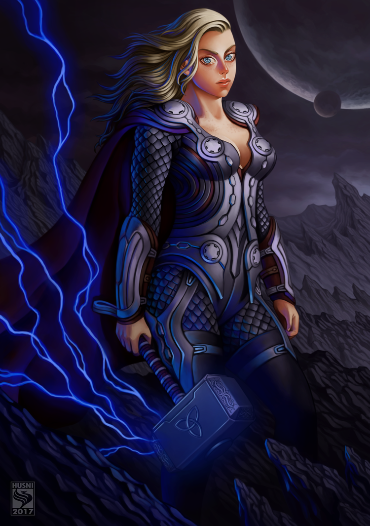 Thornia - The Asgardian by Husniarsyah