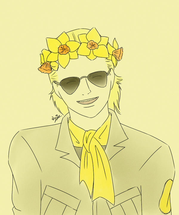 Yellow Daffodils by r2y9s