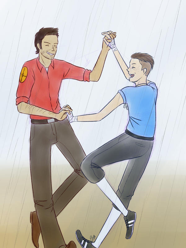 Dancing In The Rain by r2y9s