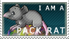 Pack Rat: Stamp by Kitsumon