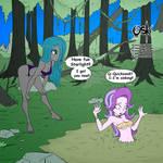 Jungle girls Chrysalis and Starlight (Commission)