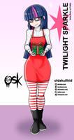 Twilight Sparkle (holiday attire)