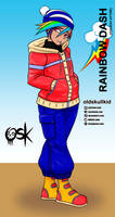 Rainbow Dash (holiday attire)