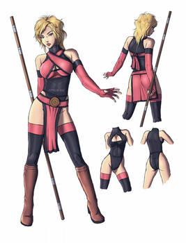 Character Alisha design