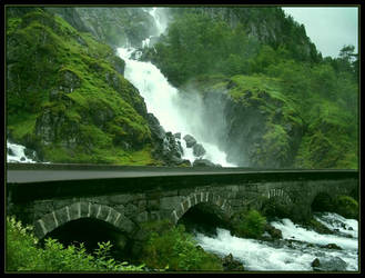 The Softness of the Waterfalls by Navanna