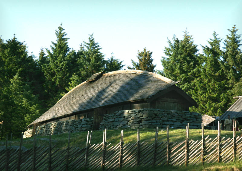 Viking Long House by Navanna
