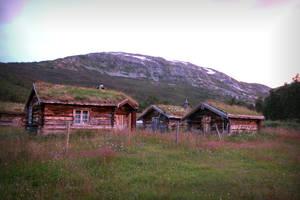 Norwegian Cottages by Navanna