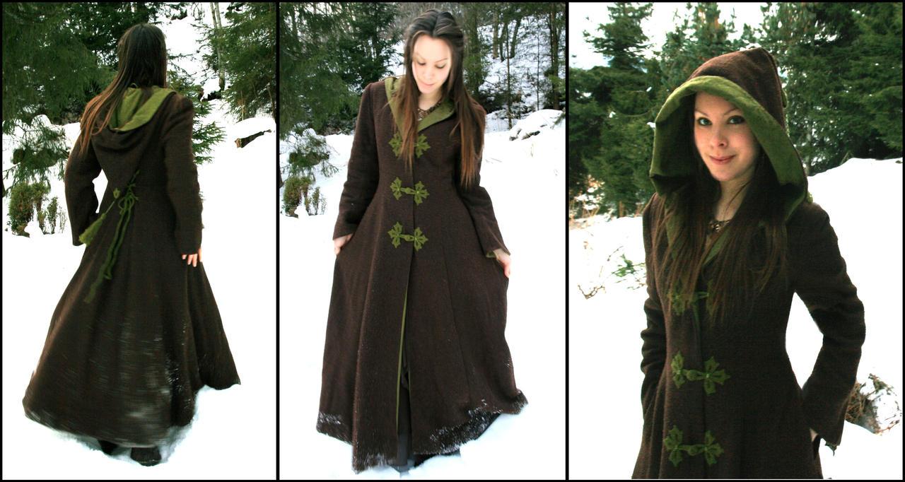 Fantasy Forest Winter Coat By Navanna On Deviantart