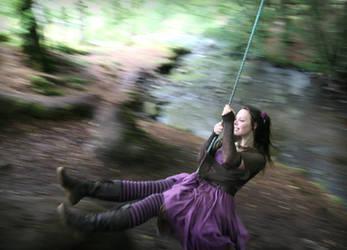 Forest Swing by Navanna
