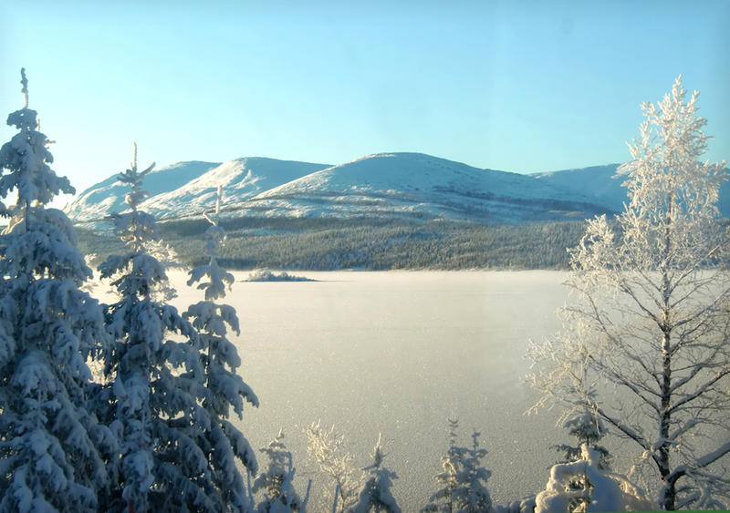 Winter Landscape by Navanna