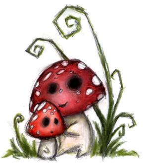 The mushrooms by Navanna