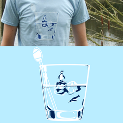 Penguins on Ice T-shirt by OhLaso