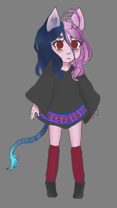 new OC by cupcat-sparkle