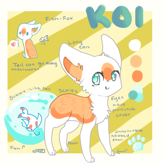 Koi Reference by Magicpawed