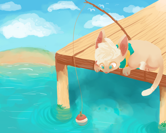 Where Did All The Fish Go? by Magicpawed