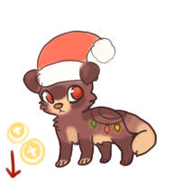 Point Xmas Adopt CLOSED by Magicpawed