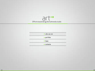 Layout ART++ Website by smackiNg