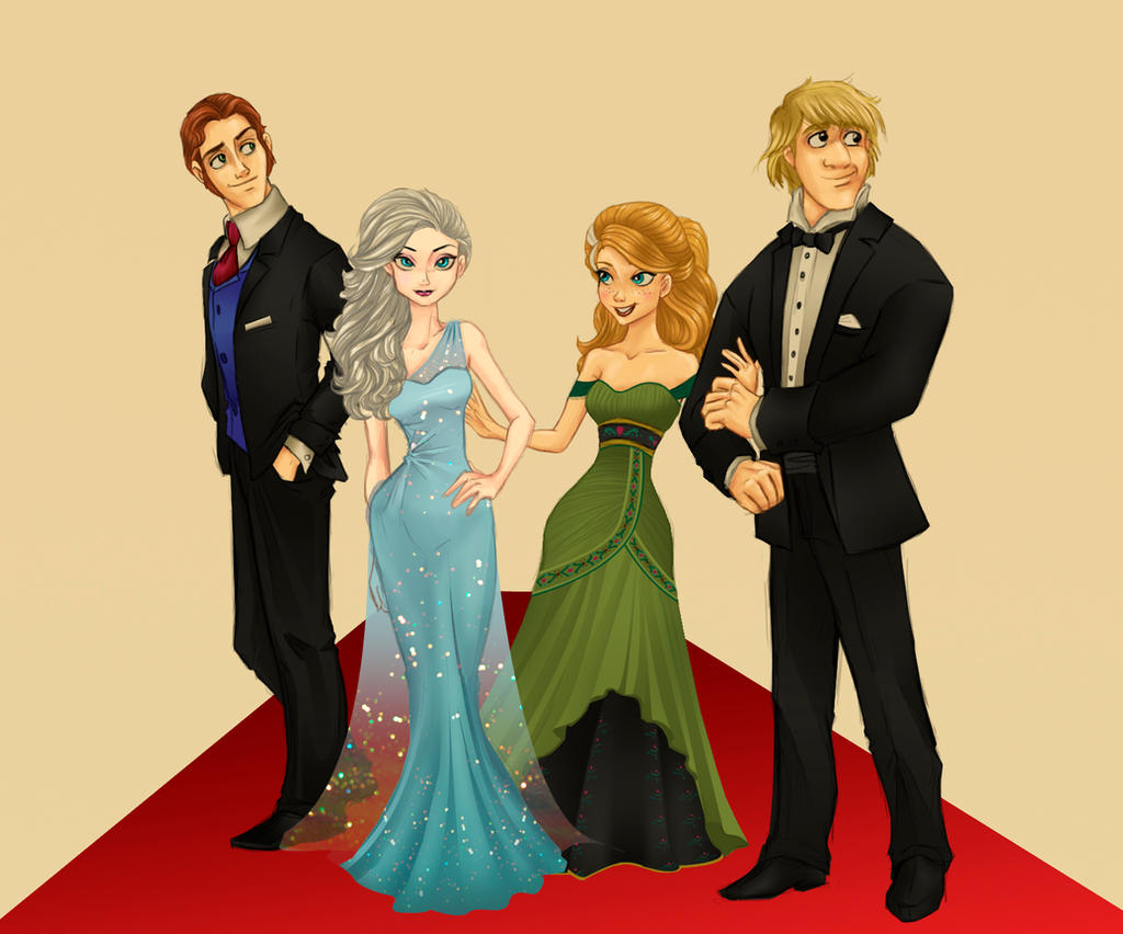 Frozen Ready for the Oscars!