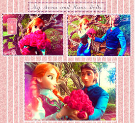 Hans give Flowers to Anna