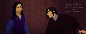 Black Vs Snape , Harry Potter 5, Occlumency