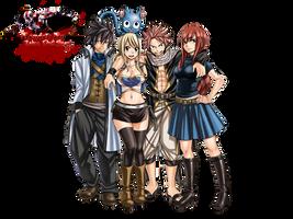 Fairy Tail Render by Zebaz-DarkSlayer