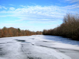 Winter Pond by oppet2