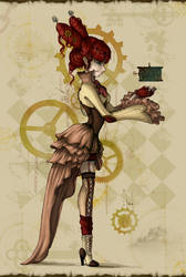 Steampunk Princess by Ai-Lilith