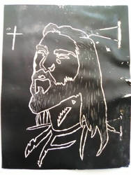 sketch of Jesus