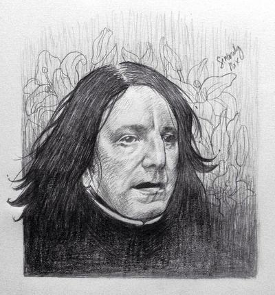 Snape by EuniceGamboa