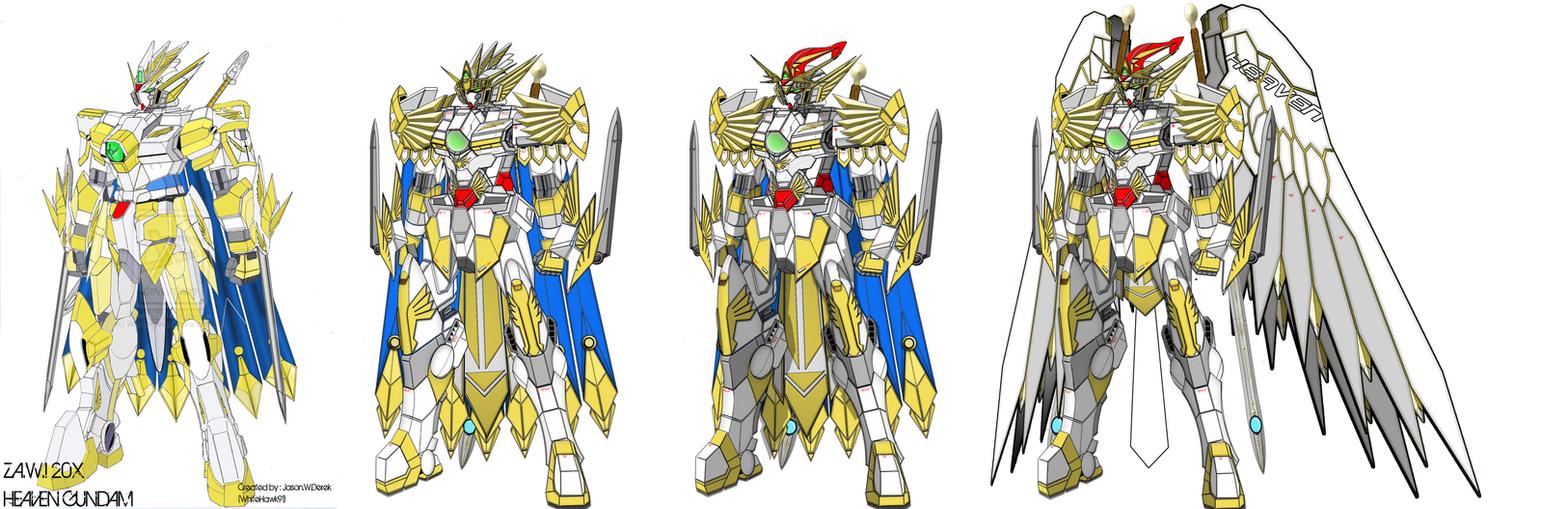 Heaven, Lord Heaven, MK III, MK IV Archangel by WhiteHawk91