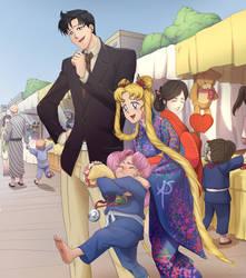 Sailor Moon by AmandaSantos-AS
