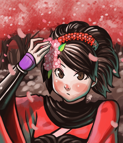 momohime by Raiden-chino