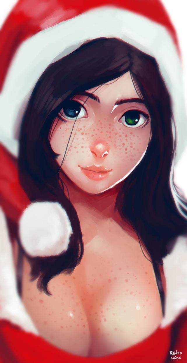 Santa Girl by Raiden-chino