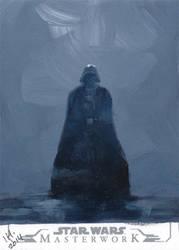 Star Wars Masterworks from Topps - Darth Vader by IngridKVHardy