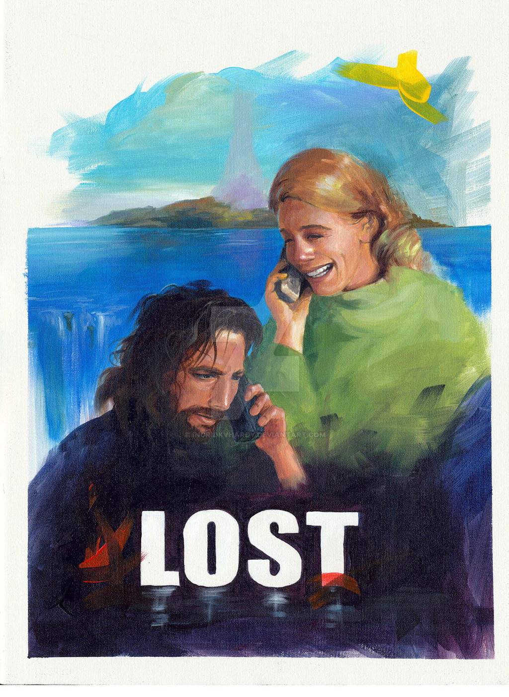 Lost (Desmond and Penny) by IngridKVHardy on DeviantArt