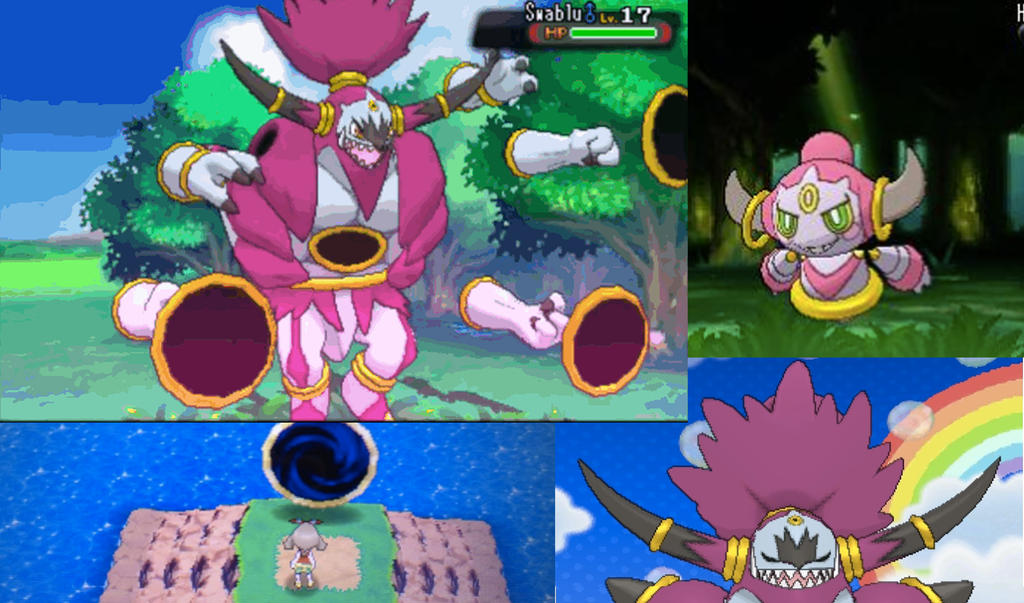 The Enigma of Hoopa by pimmermen on DeviantArt