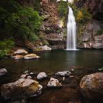 Potem Falls in Summer